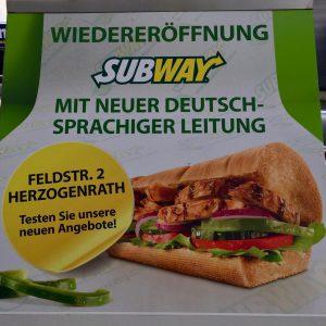 Subway Kohlscheid Wiedereröffnung
