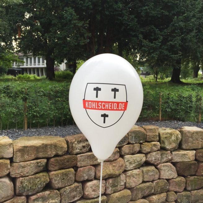 Kohlscheid.de Stadtfest Luftballon