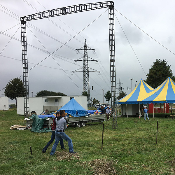 Circus Amany in Kohlscheid