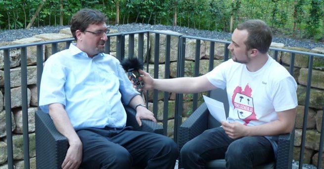 Bürgermeister Christoph von den Driesch im Interview mit Kohlscheid.de