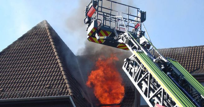 Brand in Mehrfamilienhaus in Herzogenrath