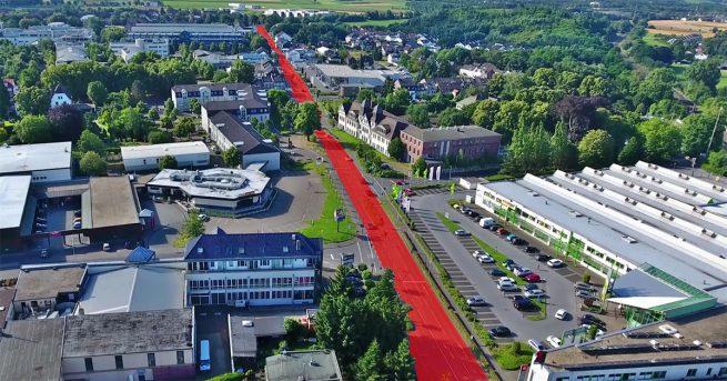 Roermonder Straße in Herzogenrath