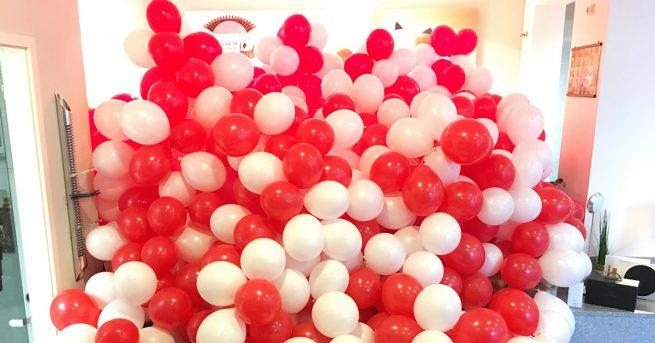 Ballons für das Kohlscheider Stadtfest