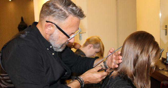 Haarspendeaktion beim Kohlscheider Stadtfest