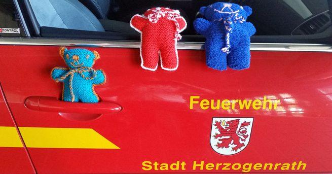 Teddybären für die Feuerwehr Herzogenrath