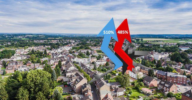 Erhöhung der Gewerbesteuer und Grundsteuer in Herzogenrath