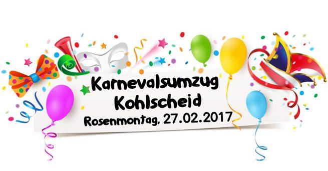 Karnevalsumzug Kohlscheid 2017