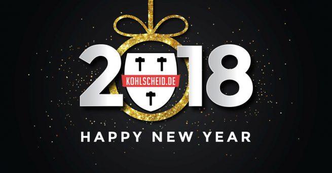 Wir wünschen ein frohes, neues Jahr 2018 und sagen DANKE ...