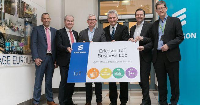 NRW-Wirtschaftsminister Pinkwart eröffnet Ericsson IoT Business Lab in Kohlscheid