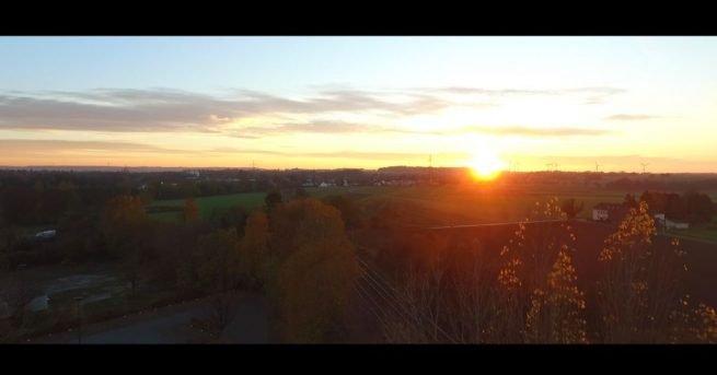 Video: Klangvoller Flug über den Wilsberg und Umgebung im Herbst 2018