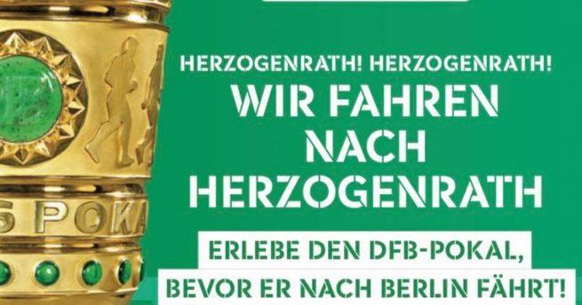 Der DFB-Pokal kommt nach Kohlscheid