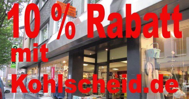 """Der Kohlscheid.de """"Frühjahrspütz"""" – wir schenken euch einen Tag lang 10% Rabatt bei Pütz"""