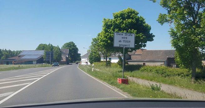 Teilstück der L223 ab Freitag wieder befahrbar – Vollsperrung Richtung Birk wird eingerichtet