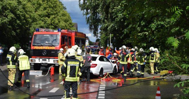 Kaiserstraße: Schwerer Verkehrsunfall mit 3 Verletzten