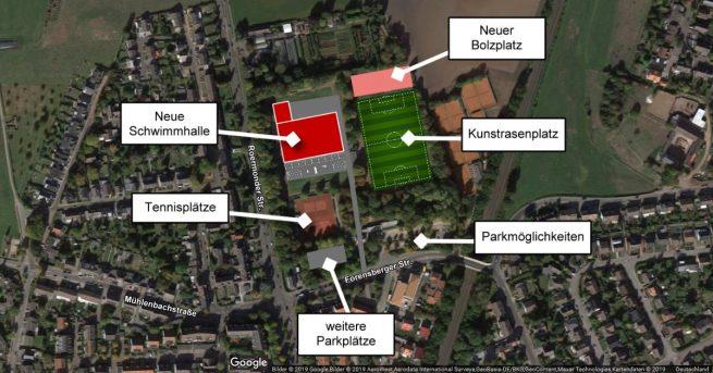 Neubau Schwimmhalle Kohlscheid