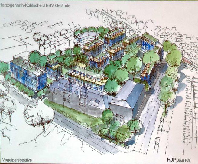 Konzept für den Umbau des EBV-Geländes vorgestellt
