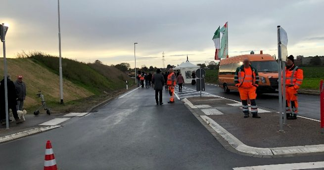 Feierliche Eröffnung der L223 durch NRW-Verkehrsminister Hendrik Wüst