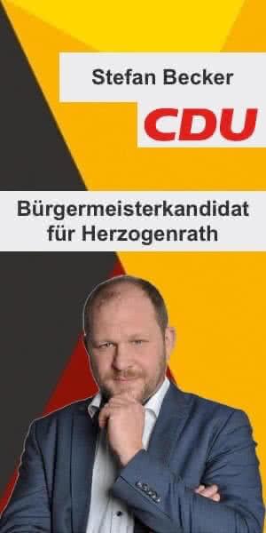 Stefan Becker Bürgermeisterkandidat für Herzogenrath 2020 CDU