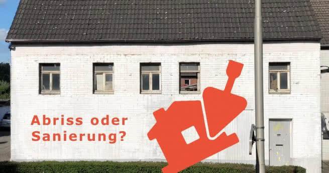 Arbeiten im weißen Haus auf der Roermonder Straße