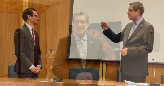 Scheidender Bürgermeister Christoph von den Driesch nimmt Abschied