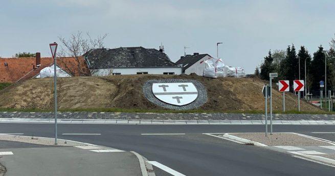Kohlscheider Wappen Kreisverkehr